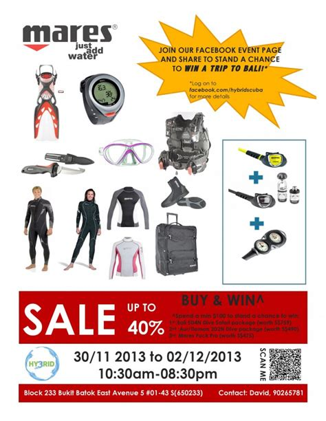discount dive gear mares warehouse sale 2013 by hybrid scuba up to 40