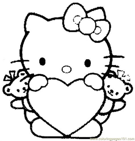 coloring pages hello kitty 04 cartoons gt hello kitty