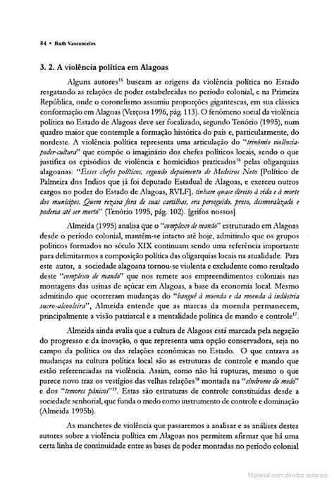 O Poder e a cultura de Violência em Alagoas - AR News