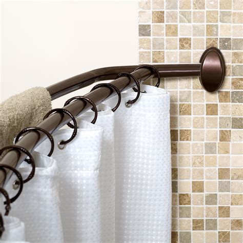 Shower Curtain Rod by Zenna Home 35604bn02 Neverrust Aluminum