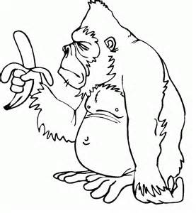 coloring pages for toddlers free printable monkey coloring pages for