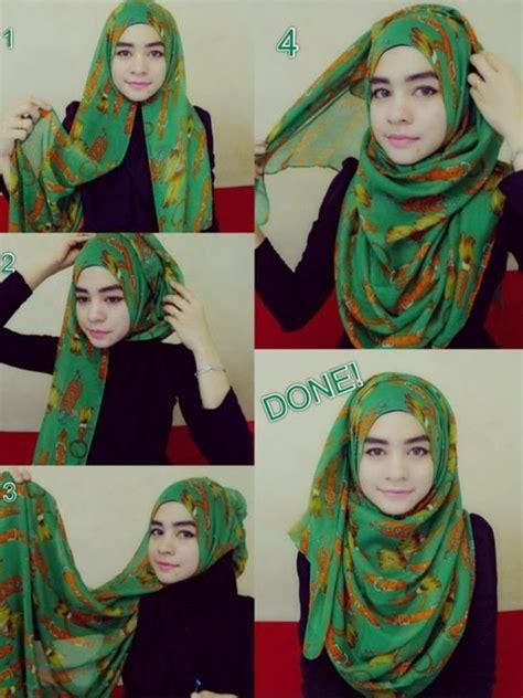 tutorial hijab glitter tutorial hijab glitter simple 5 steps by step hijab style