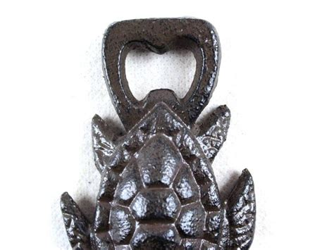 cast iron home decor buy cast iron turtle bottle opener 4 5 inch sea