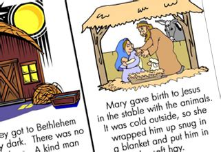printable version of the nativity story image gallery nativity story printable
