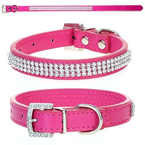 yorkie collars eforcity8 puppy collar diamante stones small chihuahua yorkie