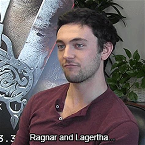 george blagden interview vikings (tv series) fan art