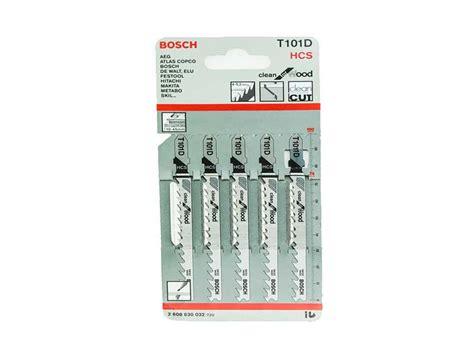 Bosch T101d Mata Jigsaw bosch t101d clean for wood t shank jigsaw blades x 5
