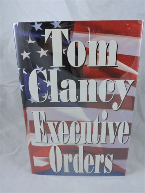 Novel Executive Orders By Tom Clancy executive orders by tom clancy signed edition 1996 from liberty book store ioba faba
