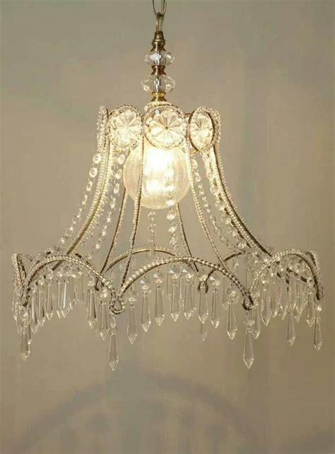 Crystal Lshade Chandelier Illuminations Pinterest L Shade Chandelier Diy