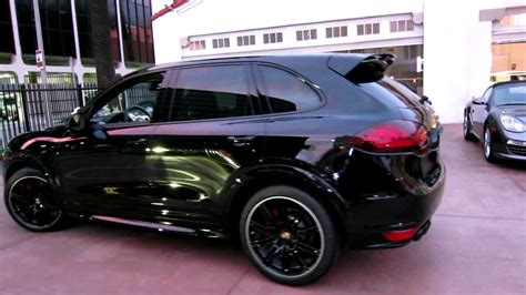 porsche suv blacked out 2013 porsche cayenne gts black now available for sale