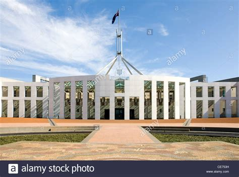buying a house in canberra the facade of the federal parliament building canberra australian stock photo