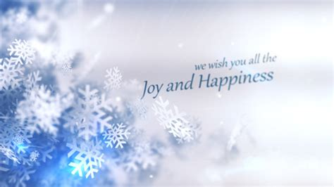 christmas winter rapsody  effects project videohive   effects template
