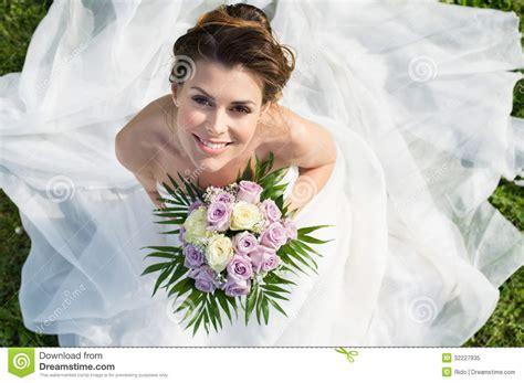 Portrait Of Beautiful Bride Royalty Free Stock Photo   Image: 32227935