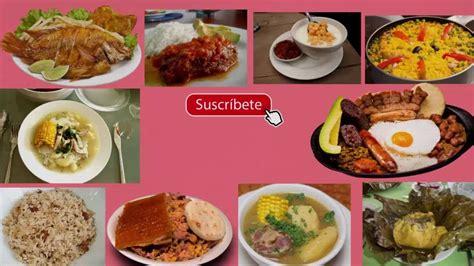 subsidio de alimentacion colombia 2016 top 10 de platos o comidas tipicas en colombia youtube