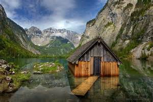 Tiny House Tours Alone Again Obersee Berchtesgaden National Park