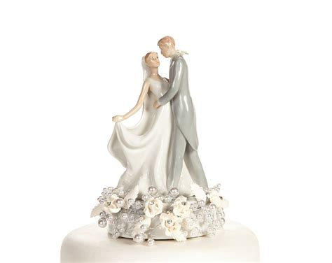 Wedding Cake Topper by Vintage Pearl Wedding Cake Topper