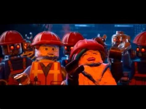 film robot lego robots singing quot everything is awesome quot youtube