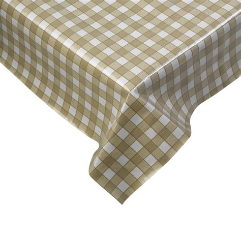 kitchen table linens tablecloth traditional gingham check 100 cotton picnic