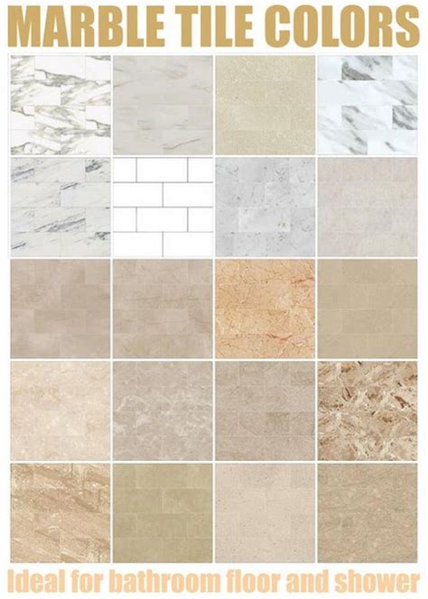 bathroom tiles color marble tiles colors marble tile color chart above