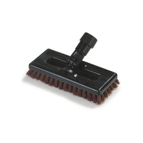 Swivel Switch For Brush Cleaner 36531027 swivel scrub 174 power scrub with grit bristles 8 quot rust carlisle foodservice