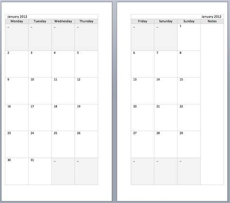 pages calendar templates two page per month calendar template calendar template 2016