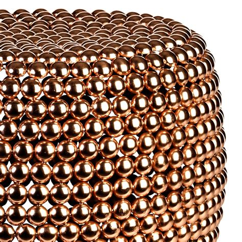 Dot Copper Stool by Buy Pols Potten Dot Stool Copper Amara