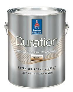Sherwin Williams Duration Home Interior Paint by Duration 174 Exterior Acrylic Coating Homeowners Sherwin