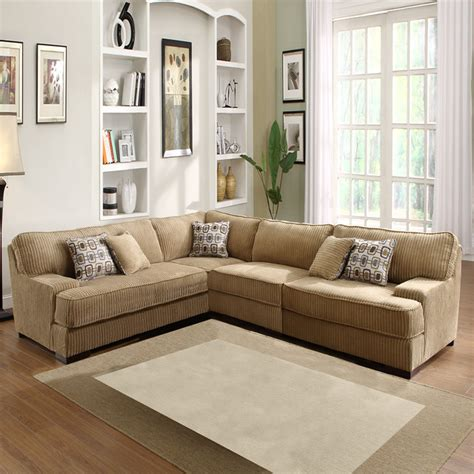 beige sectional couch tara beige chenille sectional contemporary sectional
