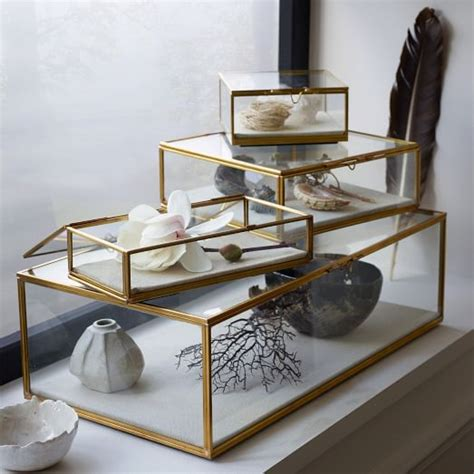 Vanities Jewelry And Gifts Glass Shadow Boxes West Elm