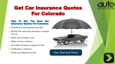 Car Insurance Auto Quote by Acquire The Best Auto Insurance Colorado Quotes With Low Rates