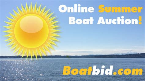 boat auctions seattle boatbid summer seattle boat auction
