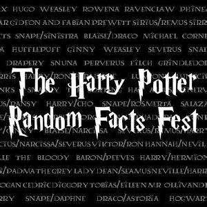 round seven of the harry potter random facts fest is now