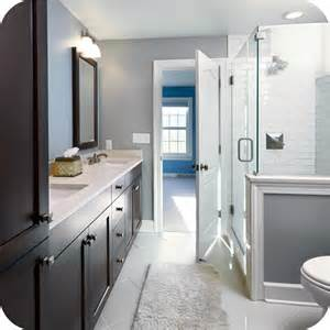 bathroom remodel ideas gray frameless shower subway tile grade teal vanity upgrade for only