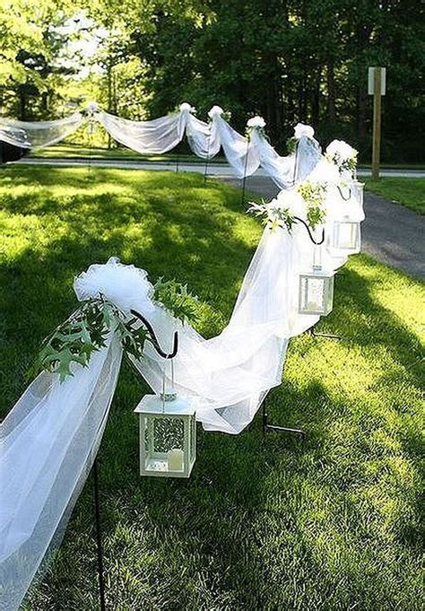25  best ideas about Outdoor wedding aisles on Pinterest