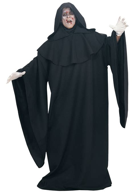 costume robe black deluxe robe costumes