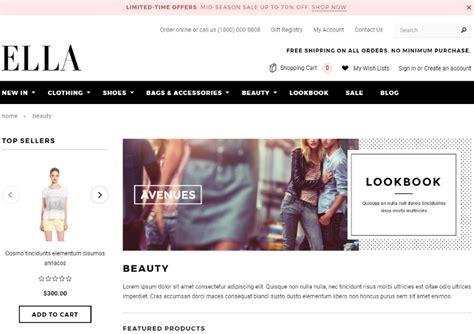 top 5 responsive online store ecommerce 3dcart templates