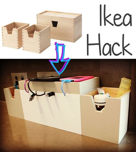 ikea charging station hack ikea hack 20 f 246 rh 246 ja box set to stylish charging station