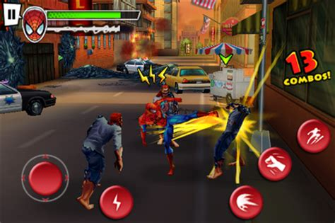 game spiderman apk data mod ultimate spiderman game apk download android games