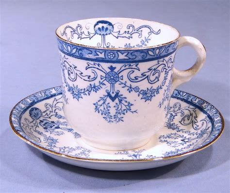 vintage china antique victorian blue and white vintage bone china tea