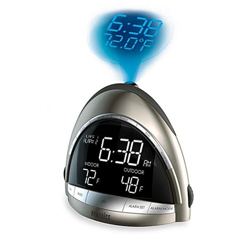 homedics 174 soundspa premier am fm clock radio bed bath beyond