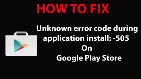 mod play store apk how to fix play store error 505 in android apk mod