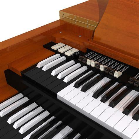 Keyboard Hammond 3d keyboard model