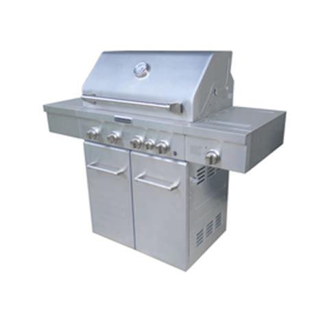 Kitchenaid 2 Burner Gas Grill Lowes Shop Kitchenaid 4 Burner 40 000 Btu Liquid Propane And