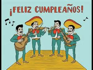 happy birthday mexican version