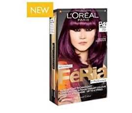 feria hair color purple l oreal feria hair color p48 purple power