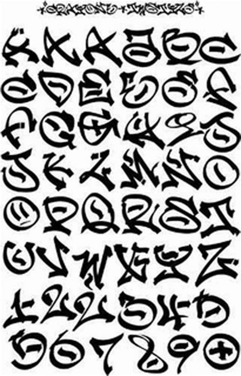 printable graffiti fonts graffitie graffiti font alphabet