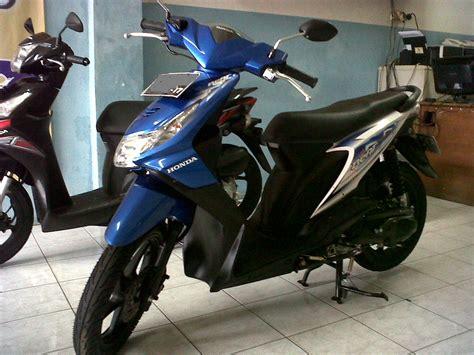 Jual Honda Beat Cw Thn2008 by Honda Beat Cw 2012 Biru Putih Mobilmotor Net Situs
