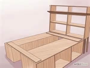 comment construire un cadre de lit en bois cadres de lit
