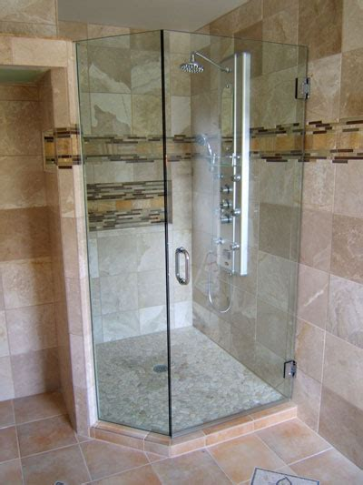 Angled Glass Shower Doors Neo Angle Frameless Shower Doors