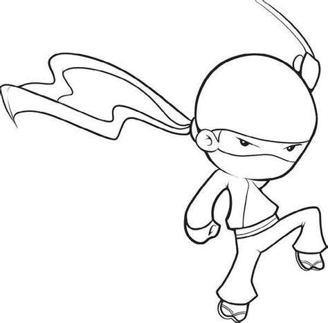 coloring page ninja female ninja coloring coloring pages